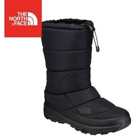 ノースフェイス ヌプシ ブーティーウォータープルーフ VI トール ブラック 8 26.0cm NF51872 ブーツ 長靴 アウトドア  【在庫処分特価】