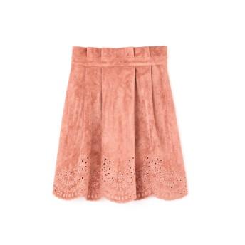 ジル スチュアート JILLSTUART ロザンヌフェイクスエードスカート BLUSH 0【税込10,800円以上購入で送料無料】