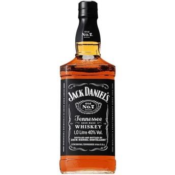 ウイスキー ジャックダニエル ブラック 並行輸入品 1000ml 1本