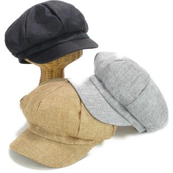 キャスケット - Smart Hat Factry <春夏新作>ポリリネン8パネルキャスケット ヤング 帽子