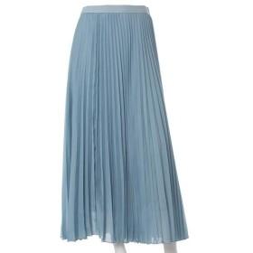 INED L / イネド(エルサイズ) 《大きいサイズ》プリーツスカート