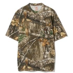 Walls / ハンティング 半袖Tシャツ メンズ Tシャツ RealTreeExtraGreen L