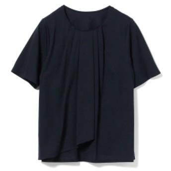 Demi-Luxe BEAMS / フロントフレア プルオーバー レディース Tシャツ NAVY ONE SIZE