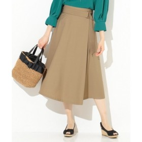any SiS / エニィスィス 【洗える】ベルテッドラップフレア スカート