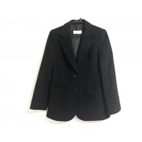 【中古】 トゥルートラサルディ TRU TRUSSARDI コート サイズ38 M レディース 黒 ショート丈/冬物