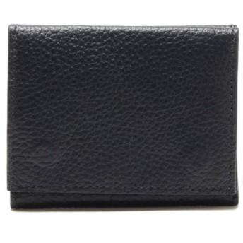 SALE 【サイフラット】三つ折り財布(メンズ) コイアオ