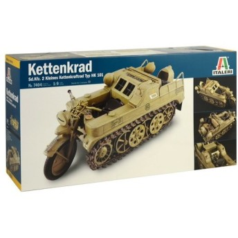 プラモデル 1/9 WW.II ドイツ軍 ケッテンクラート IT7404