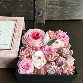 ボックスフラワー pink☆ 響花