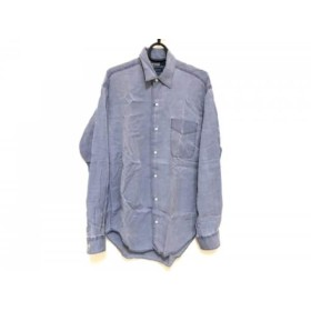 【中古】 ポロラルフローレン POLObyRalphLauren 長袖シャツ サイズS メンズ ブルー
