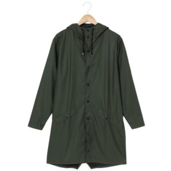 【レインズ】雨対応ロングコート RAINS LONGJACKET10(ユニセックス) ミドリ