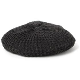 HIGHLAND 2000 / タック ベレー メンズ ハンチング・ベレー帽 BLACK ONE SIZE