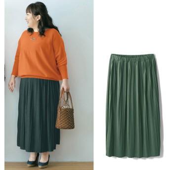 la・fite ラ・フィット 股ズレしにくいインナーパンツ付きプリーツスカート