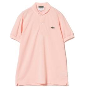 <WOMEN>LACOSTE×BEAMS GOLF / 別注 ショールカラー ポロシャツ(シーズンカラー) レディース ポロシャツ PINK 1