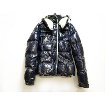 【中古】 モンクレール MONCLER ダウンジャケット サイズ0 XS レディース - 黒 フード着脱可/冬物