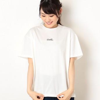 [マルイ]【セール】【店舗限定】ミニロゴ刺繍クルーネックTシャツ(Ladies')/アーノルドパーマー タイムレス(レディース)(arnold palmer timeless)