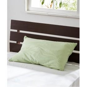 【オーガニックコットン100%】Tシャツのような肌触りの天竺ニット枕カバー(ファスナータイプ) 枕カバー・ピローパッド