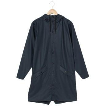 【レインズ】雨対応ロングコート RAINS LONGJACKET7(ユニセックス) アオ
