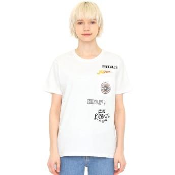 [マルイ]【セール】【ユニセックス】コラボレーションTシャツ/メニータイトルロゴ(ザビートルズ)/グラニフ(graniph)