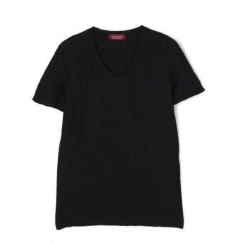 トルネードマート TORNADO MART∴ジオメトリックJQ半袖カットソー メンズ 黒 L 【TORNADO MART】