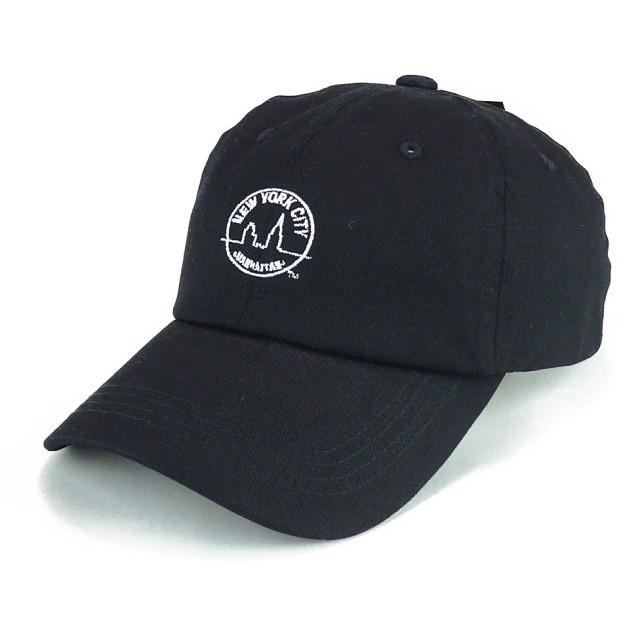 キャップ - Smart Hat Factry <春夏新作>NYCライセンスワンポイント刺繍ローキャップ ヤング 帽子