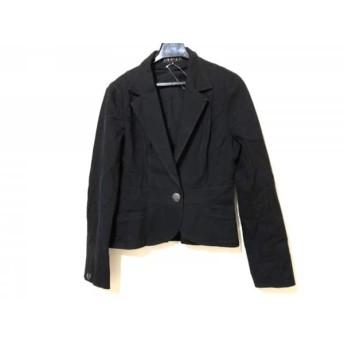 【中古】 インディビ INDIVI ジャケット サイズ38 M レディース 黒