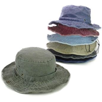 ハット - Smart Hat Factry <春夏新作>バイオウォッシュアドベンチャーハット ヤング 帽子