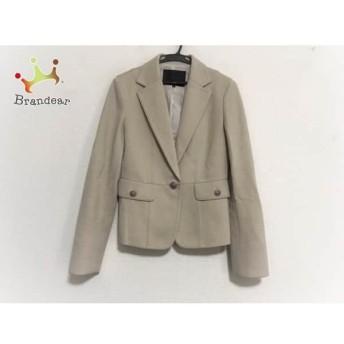アンタイトル UNTITLED ジャケット サイズ2 M レディース 美品 ベージュ スペシャル特価 20190711