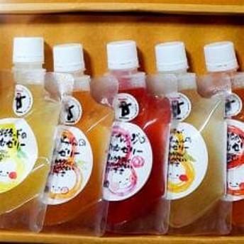 飲むゼリー(果汁50%入り)5本セット