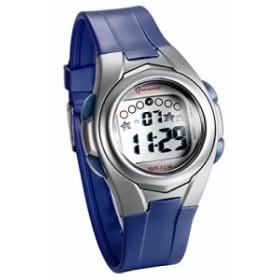 JewelryWe 多機能 子供腕時計 スポーツウオッチ アウトドア デジタル表示 3ATM防水 三色選択-[濃紺]