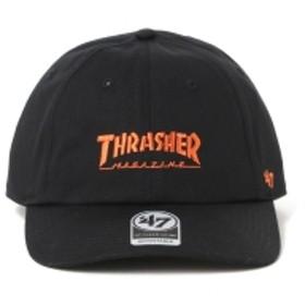 San Francisco Giants × THRASHER × 47Brand / ベースボール キャップ メンズ キャップ BLACK ONE SIZE