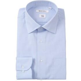 【THE SUIT COMPANY:トップス】ワイドカラードレスシャツ 織柄 〔EC・FIT〕