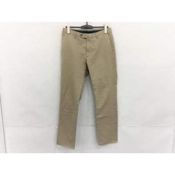 【中古】 インコテックス INCOTEX パンツ サイズ48 XL メンズ ベージュ