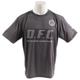 【Super Sports XEBIO & mall店:トップス】DFC半袖Tシャツ 863D9FT9351GRY