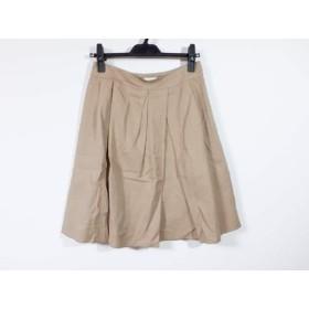 【中古】 マッキントッシュフィロソフィー スカート サイズ38 L レディース ベージュ