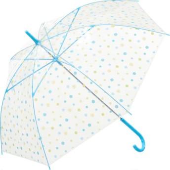 【fururi】ふるり) 着せ替えができるビニール傘 ブルーフラワー(フルリ)