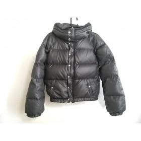 【中古】 エディション Edition ダウンジャケット サイズ38 M レディース 黒 ショート丈/冬物