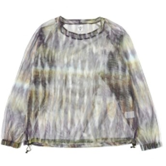 South2 West8 / Bush Shirt メンズ Tシャツ Tie Dye M
