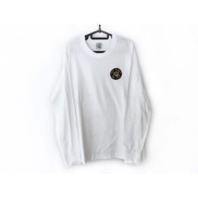 【中古】 シナコバ SINACOVA 長袖Tシャツ サイズL メンズ 白 黒 マルチ