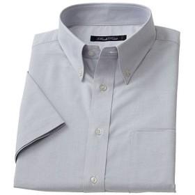 【メンズ】 形態安定ボタンダウンYシャツ(半袖) ■カラー:グレー系 ■サイズ:5L,L,M,LL,3L,4L