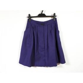 【中古】 マッキントッシュフィロソフィー スカート サイズ38 L レディース パープル