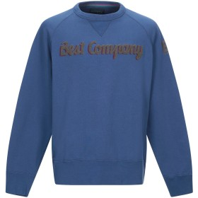 《セール開催中》BEST COMPANY メンズ スウェットシャツ ブルーグレー S コットン 100%
