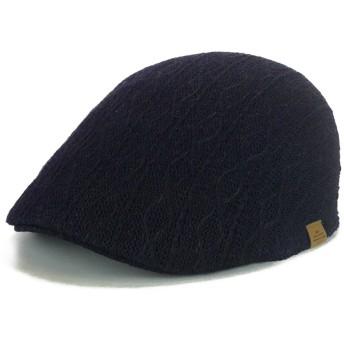 ハンチング - Smart Hat Factry <春夏新作>Rubenインディゴ染ケーブルサーモハンチング ヤング 帽子
