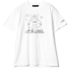 ハローキティ × クレヨンしんちゃん / Super Robot Tシャツ メンズ Tシャツ WHITE M