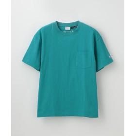 【44%OFF】 ラブレス WOMEN 別注ビッグシルエットエンブロイダリーポケットTシャツ レディース ブルー2 S 【LOVELESS】 【タイムセール開催中】