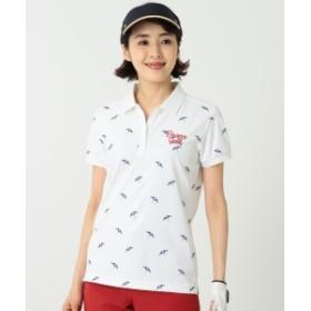 【予約】BEAMS GOLF ORANGE LABEL / ビーチサイド ポロシャツ レディース ポロシャツ WHITE M