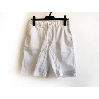 【中古】 ポロラルフローレン POLObyRalphLauren ハーフパンツ サイズ30 メンズ 白