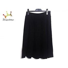 レキップ ヨシエイナバ L'EQUIPE YOSHIE INABA スカート サイズ36 S レディース 美品 黒     スペシャル特価 20190803