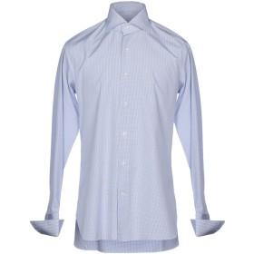 《送料無料》ROBERTO RICETTI メンズ シャツ アジュールブルー 39 コットン 100%