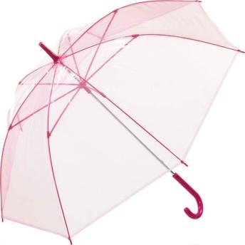 【fururi】ふるり) 着せ替えができるビニール傘 無地 ピンク(フルリ)