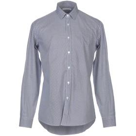 《セール開催中》DANIELE ALESSANDRINI メンズ シャツ ダークブルー 40 コットン 100%